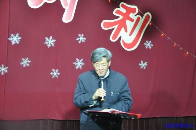 阳城基督教城关聚会点举行圣诞节崇拜